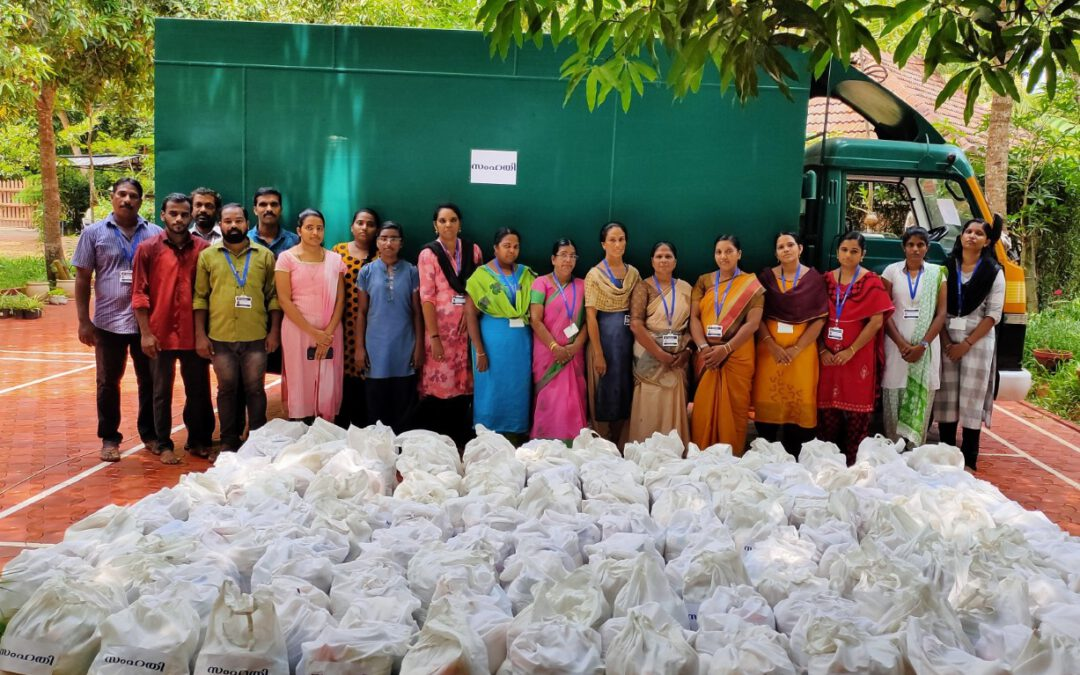 Samhathi COVID-19 Relief Work