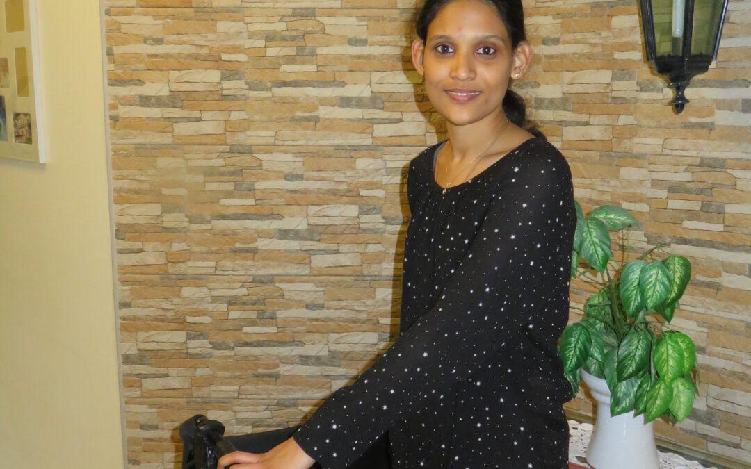 Erfolgsgeschichte: Indische Krankenschwester Bismi im Odenwald